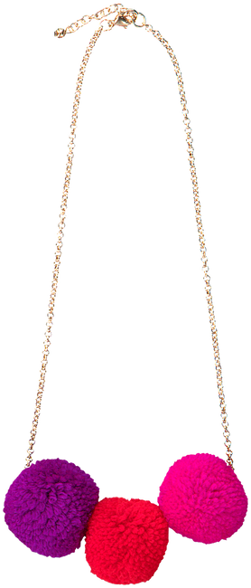 Rote LE BIG Kette POOKY NECKLACE  - large
