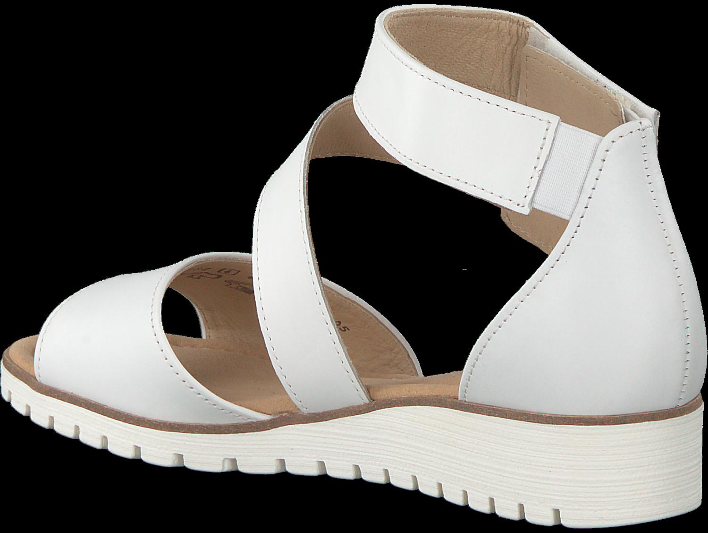 Gabor Weiße Sandalen 582 Damen Schuhe Die Beliebtesten