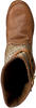 Cognacfarbene KARMA OF CHARME Langschaftstiefel TRICOT 2 - small