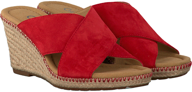 Rote GABOR Pantolette 829 - large