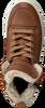 Cognacfarbene GIGA Sneaker 8825 - small