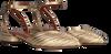 Goldfarbene ANONYMOUS COPENHAGEN Sandalen GIVIA 20  - small