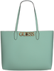 Blaue GUESS Handtasche UPTOWN CHIC BARCELONA TOTE  - small