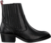 Schwarze HABOOB Ankle Boots P6731  - small