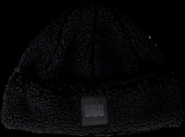 Schwarze UGG Mütze SHERPA CUFF  - large