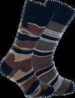 Blaue MARCMARCS Socken GILLIS COTTON 2-PACK  - medium