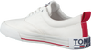 Weiße TOMMY HILFIGER Sneaker low LOWCUT ESSENTIAL  - small