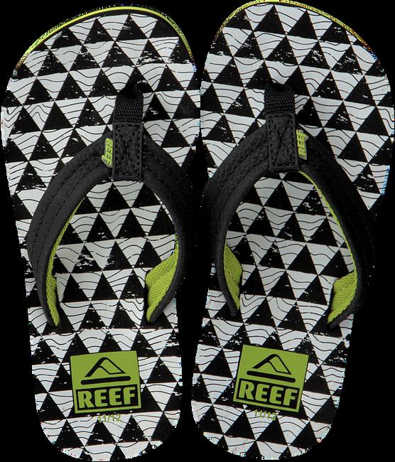 Schwarze REEF Zehentrenner R2345 - large