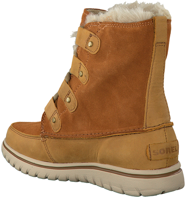 Camelfarbene SOREL Ankle Boots COZY JOAN - large