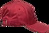 Rote CALVIN KLEIN Kappe CK VELVET BASEBALL CAP  - small