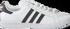 Weiße ADIDAS Sneaker COURTSTAR  - small