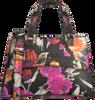 Mehrfarbige/Bunte GUESS Handtasche DALMA MINI SATCHEL  - small