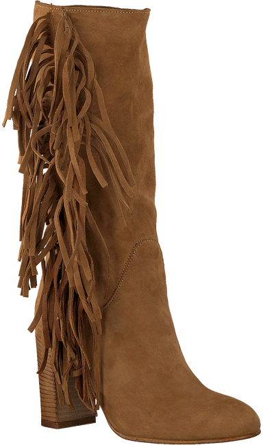 Cognacfarbene NOTRE-V Stiefeletten 8527  - large