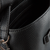 Schwarze CALVIN KLEIN Handtasche MINI TOP HANDLE  - small