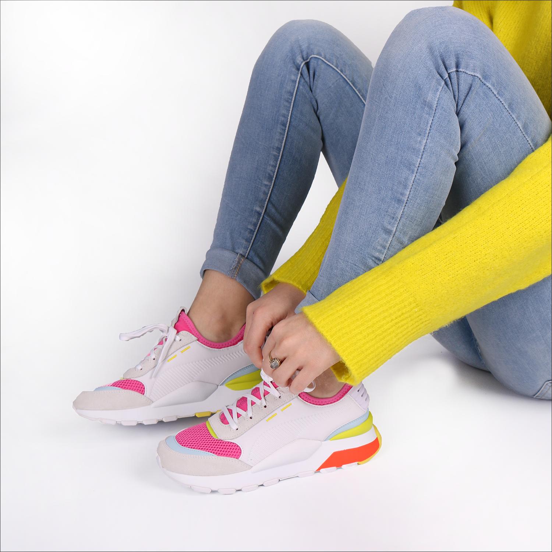 Weiße PUMA Sneaker RS 0 WINTER INJ TOYS