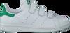 Weiße ADIDAS Sneaker STAN SMITH CF J - small