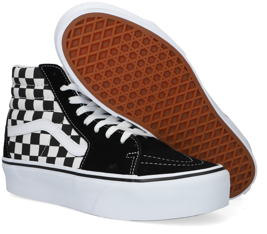 Schwarze VANS Sneaker SK8 HI PLATFORM 2.0 - larger