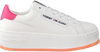 Weiße TOMMY HILFIGER Sneaker low OVERSIZED LABEL ICON  - small