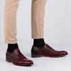Cognacfarbene FLORIS VAN BOMMEL Business Schuhe 19104 - small