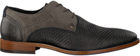 Graue REHAB Business Schuhe SOLO ZIGZAG  - medium