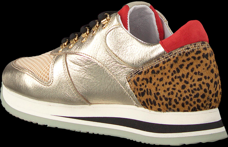 Nubikk Goldfarbene Sneaker EVI JAW