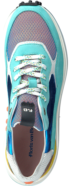 Grüne FLORIS VAN BOMMEL Sneaker low 85307  - large