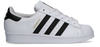 Weiße ADIDAS Sneaker low SUPERSTAR J  - small