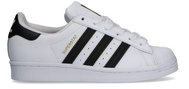 Weiße ADIDAS Sneaker low SUPERSTAR J  - large