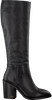 Schwarze TOMMY HILFIGER Hohe Stiefel MONO COLOR LONG  - small