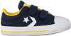 Blaue CONVERSE Sneaker low STAR PLAYER 2V OX KIDS  - small