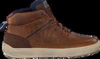 Cognacfarbene GAASTRA Sneaker high DENZEL MID TMB  - medium