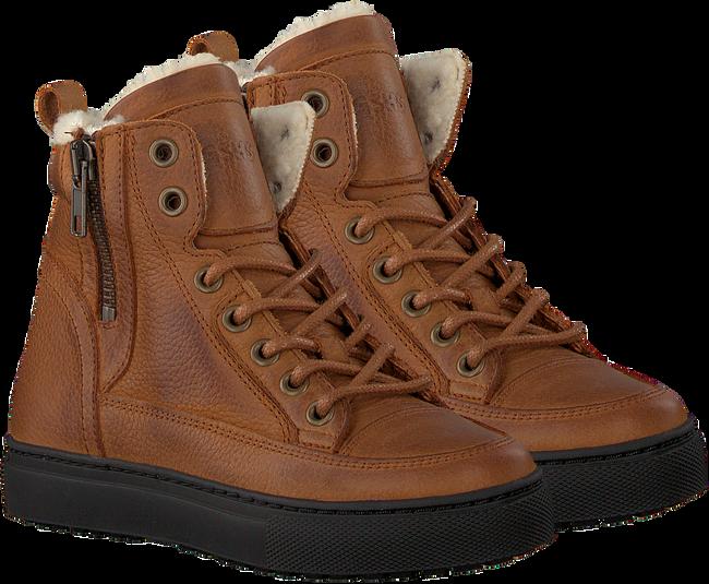 Cognacfarbene GIGA Sneaker G3341  - large