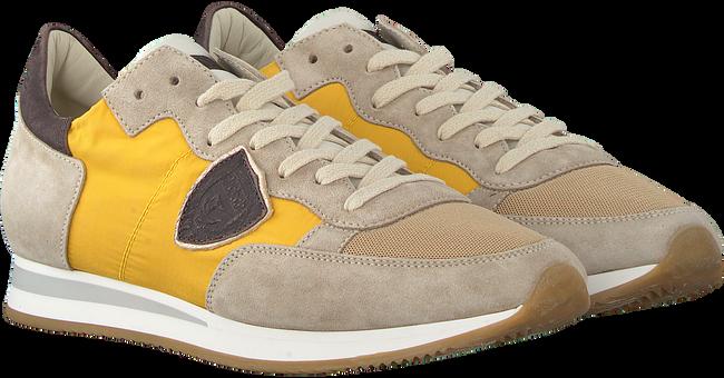 Gelbe PHILIPPE MODEL Sneaker TROPEZ  - large