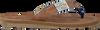 Cognacfarbene GAASTRA Pantolette GERTON  - small
