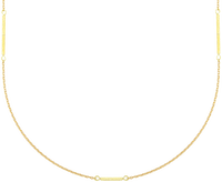 Goldfarbene JEWELLERY BY SOPHIE Kette LONG NECKLACE - medium