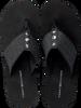 Black TOMMY HILFIGER shoe ELEVATED METALLIC BEACH SANDAL  - small