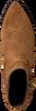 Cognacfarbene DEABUSED Stiefeletten 7433  - small