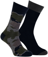 Graue MARCMARCS Socken MM DOMINIC COTTON 2-PACK - medium