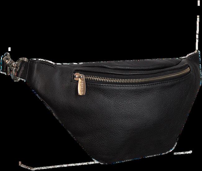 Schwarze DEPECHE Gürteltasche BUM BAG  - large