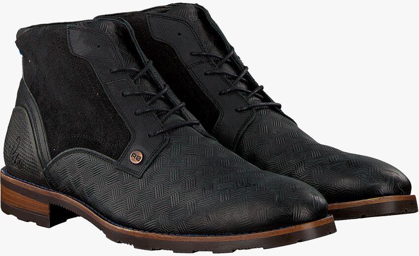 Schwarze REHAB Business Schuhe LENNON KRIS KROS  - larger