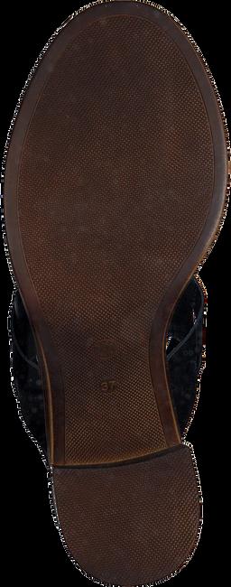 Schwarze OMODA Sandalen 4538  - large