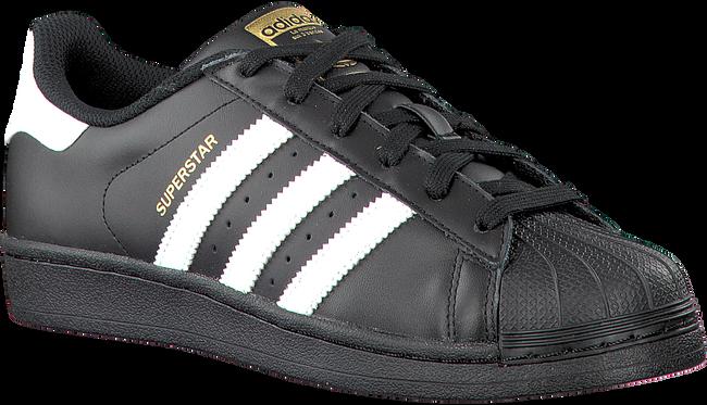 Schwarze ADIDAS Sneaker SUPERSTAR KIDS - large
