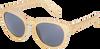 Goldfarbene LE BIG Sonnenbrille NEGIN SUNGLASSES  - small