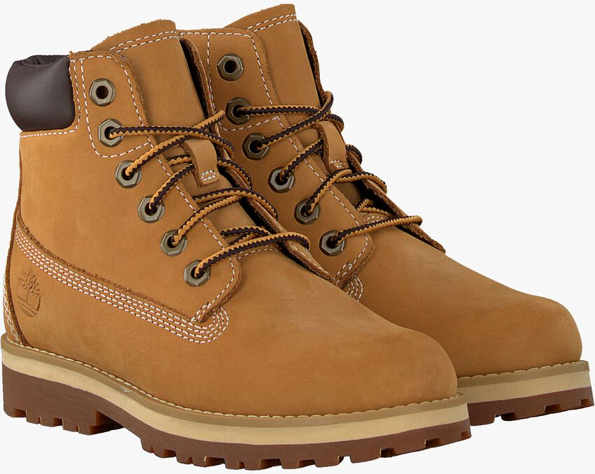 Camelfarbene TIMBERLAND Schnürboots COURMA KID TRADITIONAL 6 INCH  - larger