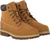 Camelfarbene TIMBERLAND Schnürboots COURMA KID TRADITIONAL 6 INCH  - small