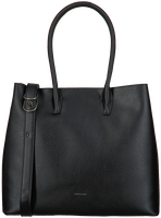 Schwarze MATT & NAT Handtasche KRISTA SATCHEL  - medium