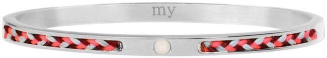 Silberne MY JEWELLERY Armband CORD BANGLE - large