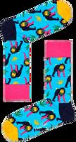 Blaue HAPPY SOCKS Socken MONKEY  - medium