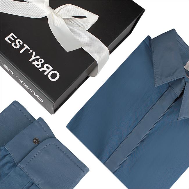 Blaue EST'Y&RO Kragen EST'109 - large