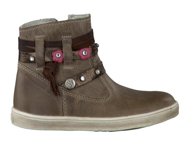 Taupe TWINS Langschaftstiefel 314611 - large
